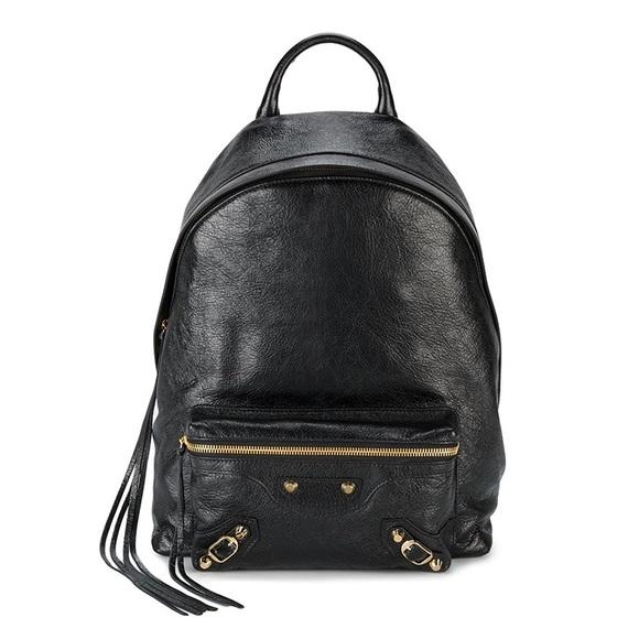 2cc53184c11 BALENCIAGA Black Classic City Backpack (brand new)